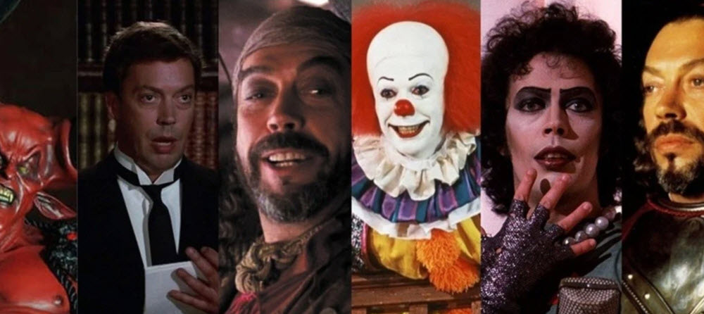 Tim Curry roles